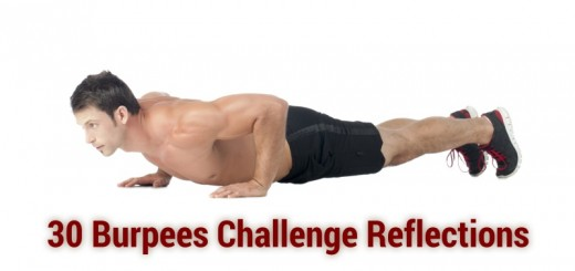 Please add your reflections on the 30 burpees challenge