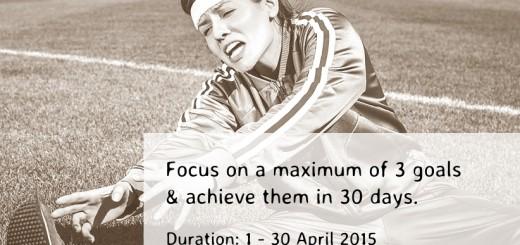 Forgotten Goals & Resolutions 30-day Challenge 2015